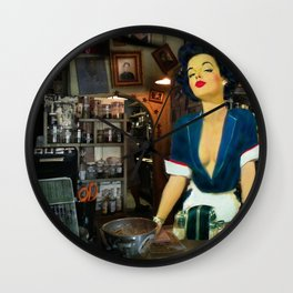 What Can I Do You For? Wall Clock
