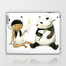 Tea Time with Panda  Laptop & iPad Skin