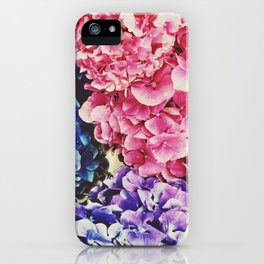 The Colored Petals  iPhone Case