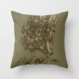 The Walkin' Closet Throw Pillow