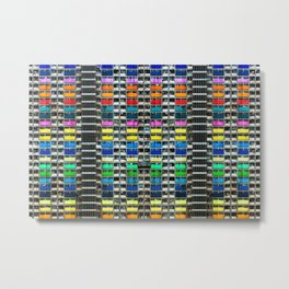 Absolute Colorful World Extravagance Architectural Photograph Metal Print
