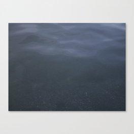 Water pattern Kits Beach Vancouver Canvas Print