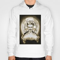 tesla Hoodies featuring Nikola Tesla by Kitchimama