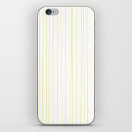 Yellow Lines by Friztin iPhone Skin