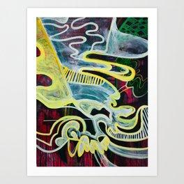 Slipping Into Dreams Art Print