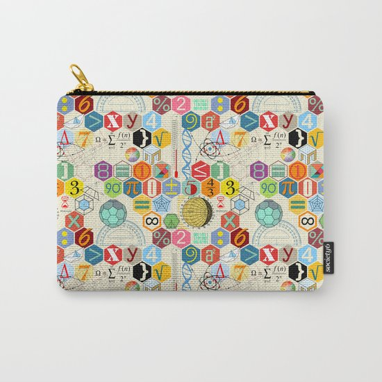 Math in color (little) Carry-All Pouch