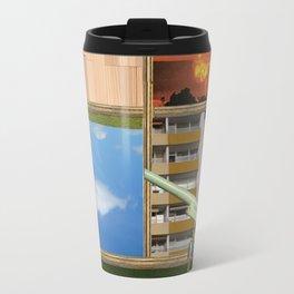 An der Schwelle zur Freiheit · a day with Magritte 3 Travel Mug