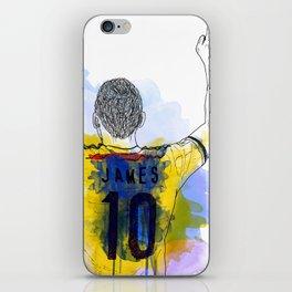 james rodriguez 10 iPhone Skin