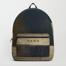Above and below our sea of trees Backpack