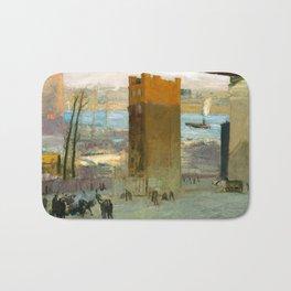George Bellows - The Lone Tenement, 1909 Bath Mat