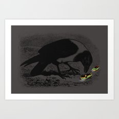 Dinobirds Art Print