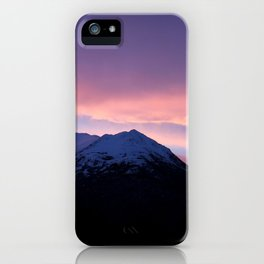 Pink and Purple Sunrise iPhone Case