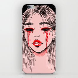 cry baby iPhone Skin