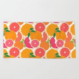 Grapefruit Harvest Beach Towel