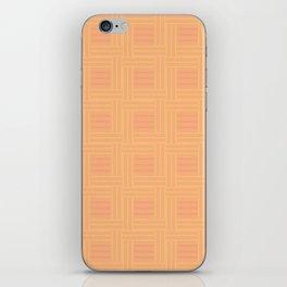 Elour Peach Tile iPhone Skin