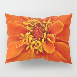 Orange Petals Pillow Sham