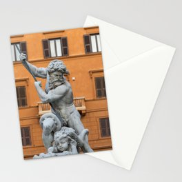 Fountain of Neptune, Rome Stationery Cards