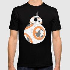 BB-8 on Jakku Black SMALL Mens Fitted Tee