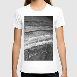 Barrels In Black & White T-shirt