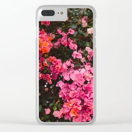 California Blooms IV Clear iPhone Case