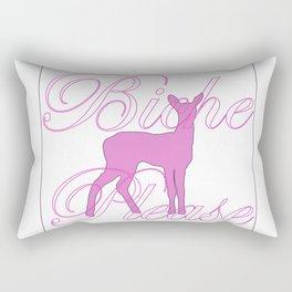 Biche Please (fawn) Rectangular Pillow