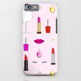 Beauty and makeup iPhone Case