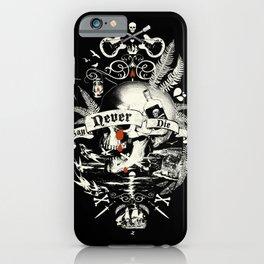NEVER SAY DIE iPhone Case