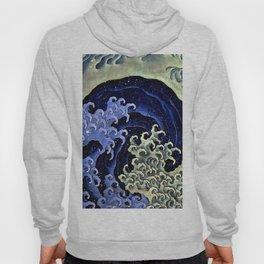 "Hokusai (1760–1849) ""Femenine wave"" Hoody"