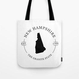 New Hampshire - The Granite State Tote Bag