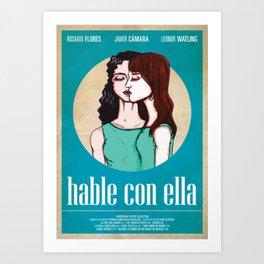 Almodóvar Poster Collection   Hable Con Ella Art Print