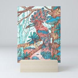 River Hoopoe Mini Art Print