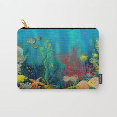 Undersea Art With Coral Carry-All Pouch