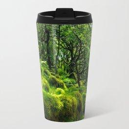 MOSSY ROCK ENGLISH FOREST Travel Mug