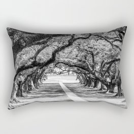 Louisiana Path Through the Oaks Rectangular Pillow