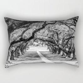 Louisiana Path Through the Oaks Rectangular Pillow