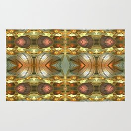 Golden Globes / /  #fractal #fractals #3d Rug