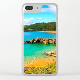 Waimea Rock Jumpers Clear iPhone Case