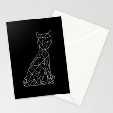 Eleven Quads Cat Stationery Cards