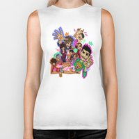 cargline Biker Tanks featuring Collage by cargline