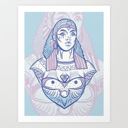 Ancient Goddess Art Print