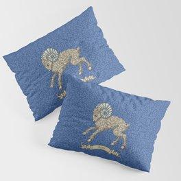 Vintage Astrology - Aries Pillow Sham