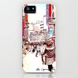 Street In Shibuya iPhone Case