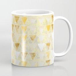 Gold Glass Coffee Mug
