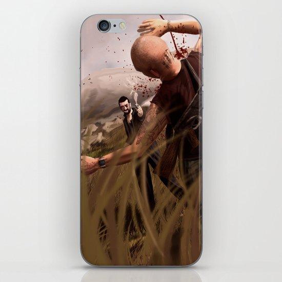 The Killer Wears Overalls iPhone & iPod Skin