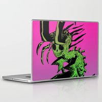 demon Laptop & iPad Skins featuring DEMON by ASHES