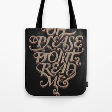 Please Don't Tote Bag