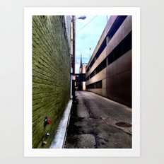 Hulk Alley Art Print