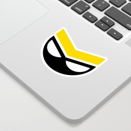 Future Boy, Yellow (sticker) Sticker