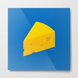 Swiss Cheese Metal Print