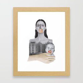 Madonna with child Framed Art Print